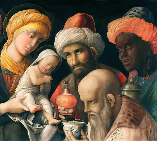 Os Três Reis Magos de Andrea Mantegna
